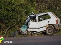 Homem morre em acidente de trânsito na BR 392, em Caçapava do Sul