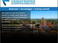 Evento inédito sobre tecnologia acontece nesta quarta-feira em São Sepé