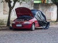 Corpo é encontrado carbonizado dentro de veículo em Caçapava do Sul