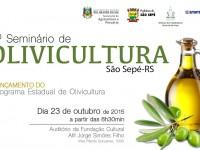 Diversificação no campo: São Sepé sediará seminário sobre plantio de oliveiras