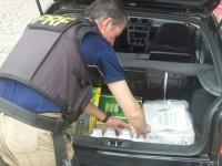 Homem em carro com placas de São Sepé é preso por contrabando de agrotóxicos