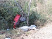 Acidente entre caminhonete e carroça deixa um ferido em Cachoeira do Sul