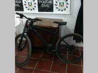 Polícia Civil recupera bicicleta que tinha sido furtada no centro de São Sepé