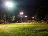 Praça do Bairro Lôndero passa a contar com novo sistema de iluminação