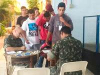 Mais de 100 jovens participaram de triagem para o Serviço Militar