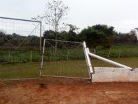 Invasão de campo após jogo deixa prejuízos ao patrimônio público em São Sepé