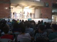 Teatro reuniu dezenas de estudantes em São Sepé