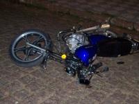 Motociclista sem habilitação sofre acidente no centro de São Sepé