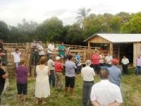 Emater de Vila Nova do Sul inaugura Centro de Manejo Pecuário
