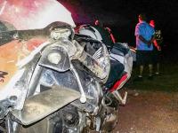 Acidente de trânsito deixa duas pessoas feridas na BR 392
