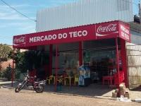 Mercado é alvo de furto no centro da cidade