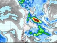 MetSul alerta para o risco de chuva volumosa e tempestades