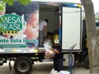 Projeto do Sesc destinou 6 mil toneladas de alimentos a entidades de São Sepé e região