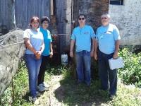 Comunidades quilombolas recebem dosadores de cloro