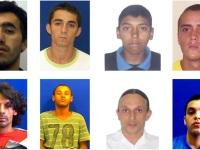 Veja a ficha criminal dos detentos que fugiram do presídio de Caçapava do Sul