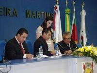 Marco Filipini (PMDB) toma posse como presidente da Câmara de Vereadores