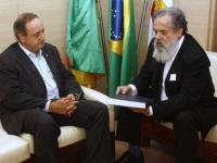 Ex-prefeito de São Sepé esteve reunido com o secretário estadual de Educação