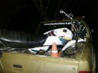 Menor é detido pilotando motocicleta no bairro Cristo Rei