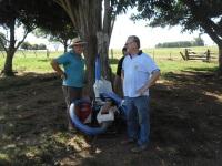 Agricultores familiares de São Sepé recebem sistemas de irrigação
