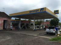 Ousadia: posto de combustíveis a cerca de 50 metros da polícia é furtado