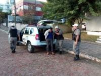 Homem assalta mercado e é preso em flagrante pela Brigada Militar
