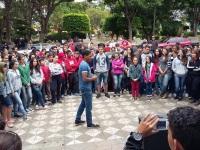 Evento do CAPS AD debateu combate às drogas e reuniu dezenas de jovens