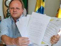 Prefeito mostra tentativas de negociar segurança pública com o Governo do Estado