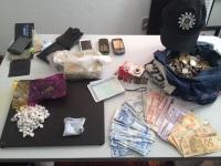 Polícia Civil divulga quantidade de drogas e dinheiro apreendidos em operação
