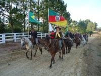 Cavalgada Ecológica alertou para a preservação ambiental em São Sepé