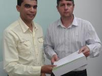 Vereador Gilvane Moreira (PP) participa de encontro com representante da AES Sul