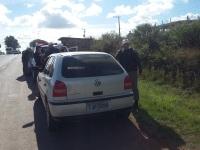 Brigada Militar apreende veículo usado em serviço de táxi clandestino