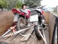 BM apreende motos que seriam usadas em prática de furtos e roubos em São Sepé