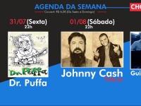 Música: confira agenda de shows de quinta a domingo em bar da cidade