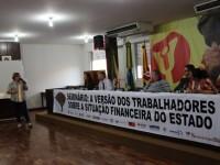 Servidores públicos irão paralisar atividades caso o governo estadual parcele salários