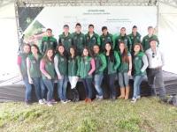 Alunos do Jovem Aprendiz Rural participam de Dia de Campo em Jaguari