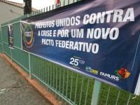 Protesto: Prefeitura debate reflexos da crise em dia de paralisação estadual
