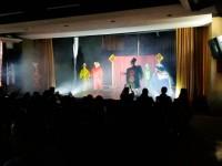 Teatro sobre trânsito feito por servidores foi apresentado para mil crianças de São Sepé