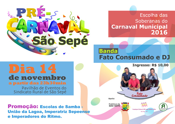 pre carnaval sao sepe