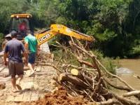 Prefeitura de São Sepé recupera trechos críticos nas estradas do interior
