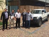 Hospital de São Sepé recebe doação de caminhonete