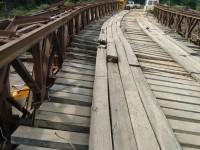 Ponte na localidade de São Rafael está interditada