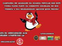 Torcida do Inter em São Sepé fará campanha do agasalho no dia 19 de junho