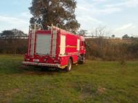 Bombeiros são acionados para apagar focos de incêndio no Parque Ambiental de São Sepé
