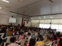Cotrisel mobilizou quase 300 alunos com diversas atividades em São Sepé
