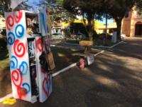 Praça das Mercês passa por transformação durante cumprimento de tarefa da Ginco CESS