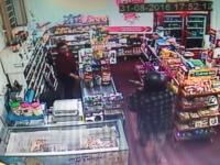 Câmeras de segurança registraram assalto a mercado em São Sepé