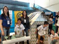 Alunos da Valmarath apresentam trabalho em libras em evento na Unipampa