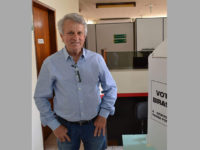 Dr. Choca, PMDB, votou na Prefeitura de São Sepé