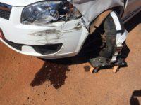 Colisão resulta apenas em danos materiais em São Sepé