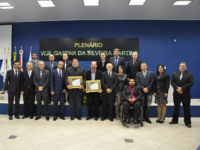 Agropecuaristas recebem homenagens na Câmara de São Sepé